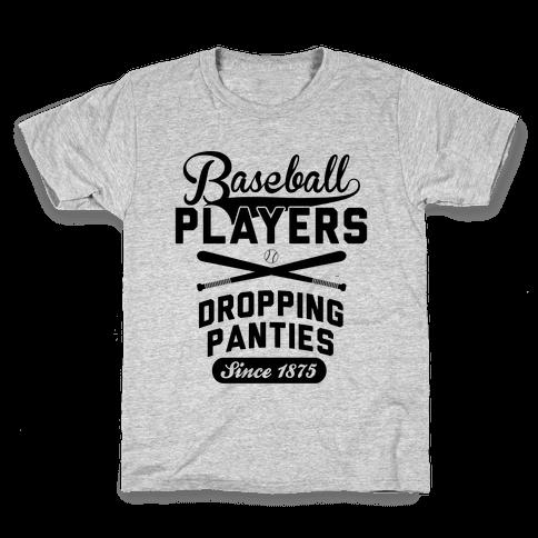 Baseball Players Kids T-Shirt