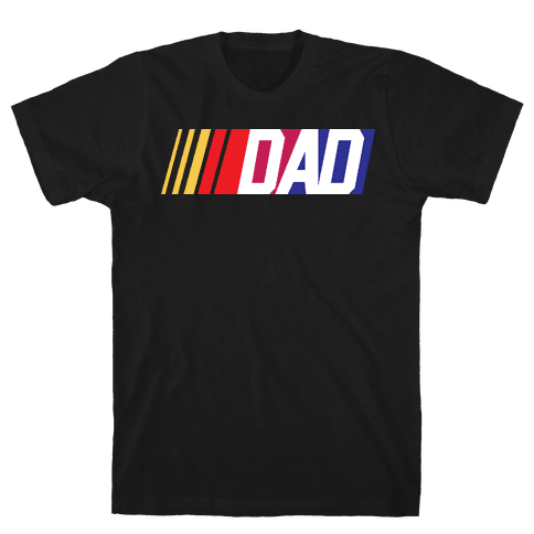 Race Dad Mens T-Shirt