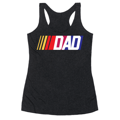 Race Dad Racerback Tank Top