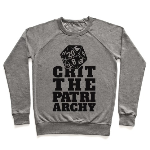 Crit The Patriarchy Pullover