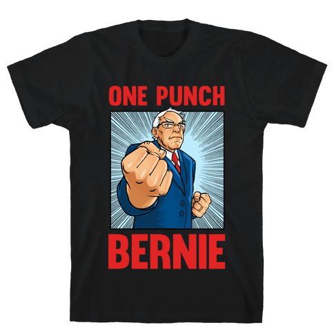 One Punch Bernie Mens T-Shirt