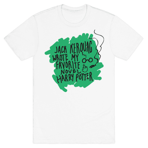 Jack Kerouac Is My Favorite Mens T-Shirt