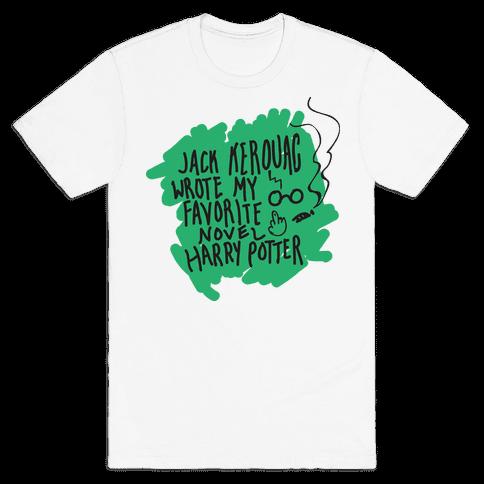 Jack Kerouac Is My Favorite Mens T-Shirt