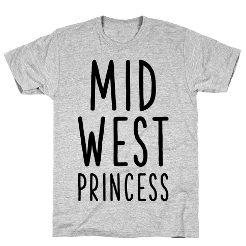 Midwest Princess Mens T-Shirt