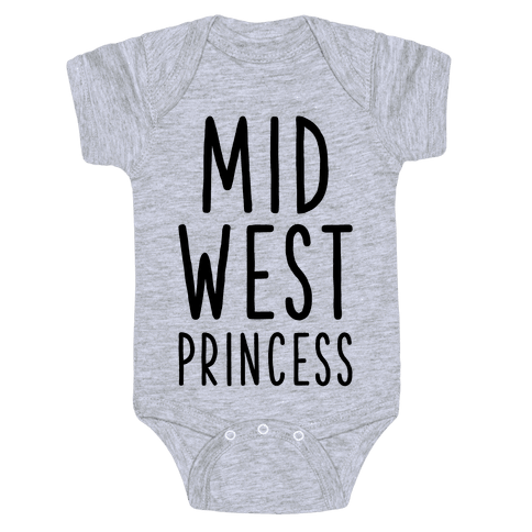 Midwest Princess Baby Onesy