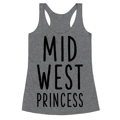 Midwest Princess Racerback Tank Top
