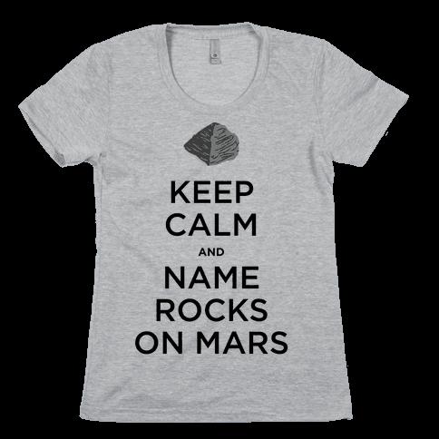 Keep Calm and Jake Matijevic Womens T-Shirt