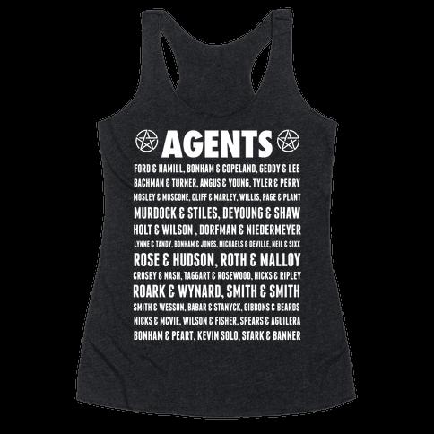 Winchester FBI Agents Racerback Tank Top