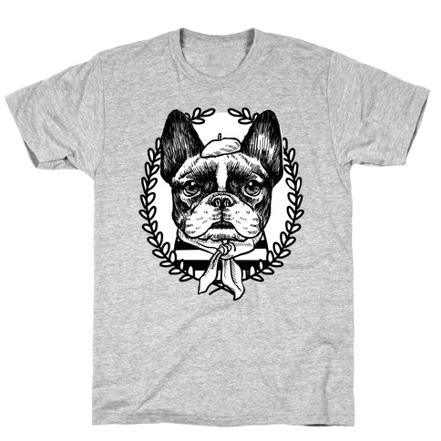 French Bulldog Illustration Mens T-Shirt