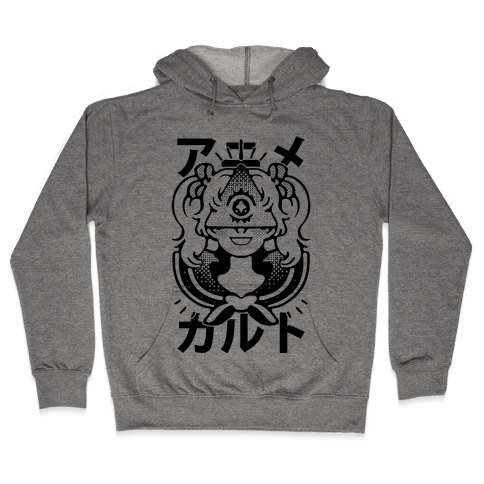 Anime Illuminati Cult Hooded Sweatshirt