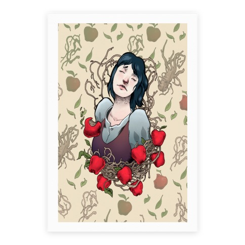 Poisonous Apple Snow White Poster
