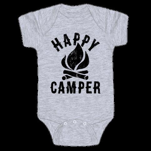 Happy Camper Baby Onesy