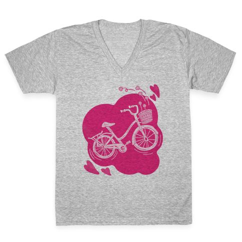 Pedal To The Metal V-Neck Tee Shirt