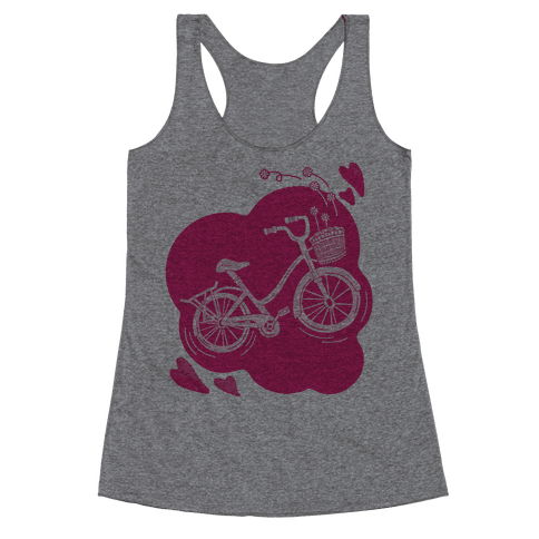 Pedal To The Metal Racerback Tank Top
