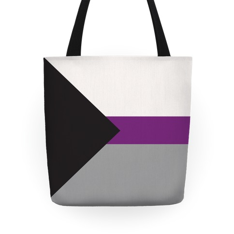 Demisexual Pride Flag Tote