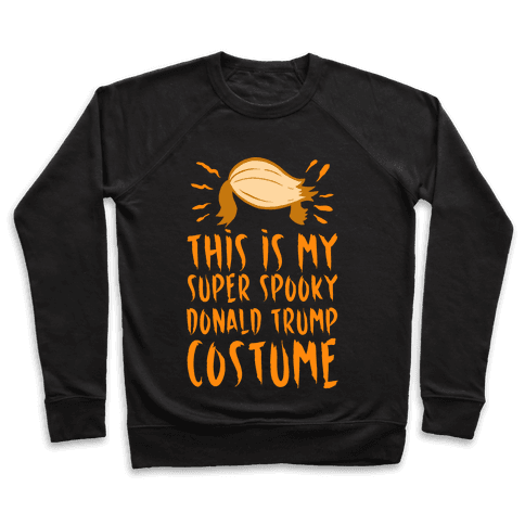This is My Super Spooky Donald Trump Costume Pullover