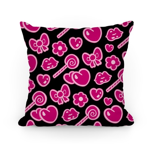 Cute, Sassy and Girly Pillow