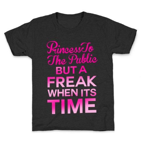 Princess To The Public Kids T-Shirt