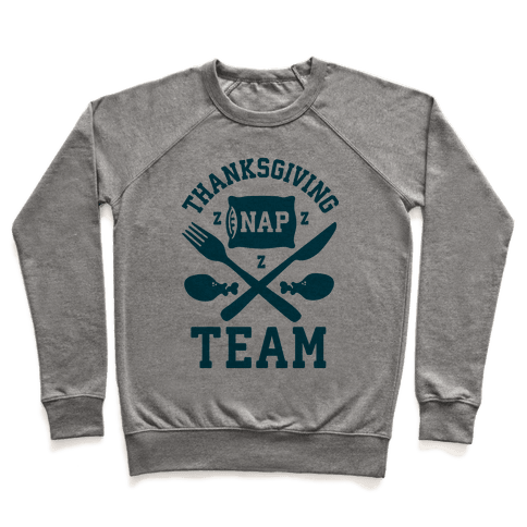 Thanksgiving Nap Team Pullover