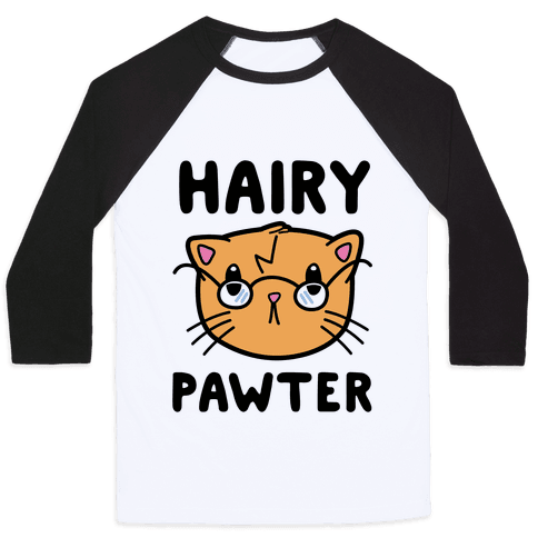 Hairy Pawter Baseball Tee