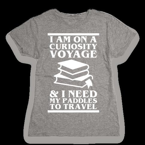 Curiosity Voyage Womens T-Shirt