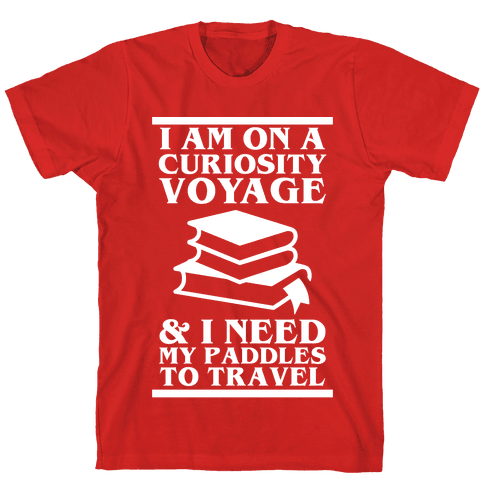 Curiosity Voyage Mens T-Shirt
