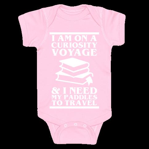 Curiosity Voyage Baby Onesy