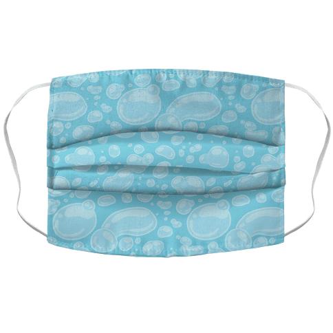 Subtle Bubble Pattern Face Mask Cover