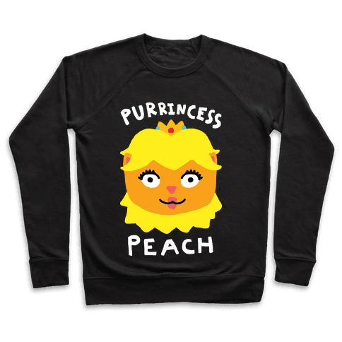 Purrincess Peach Pullover