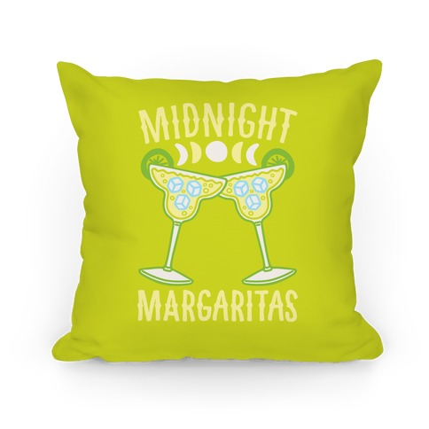 Midnight Margaritas Pillow