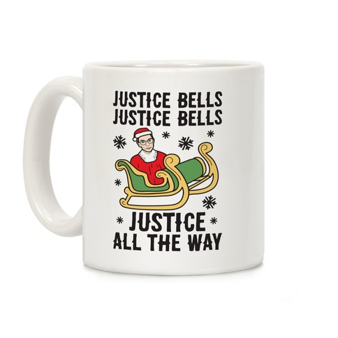 Justice Bells RBG Coffee Mug