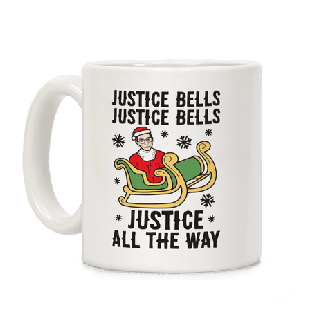 Justice Bells RBG Coffee Mug