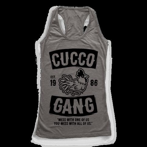 Cucco Gang Racerback Tank Top