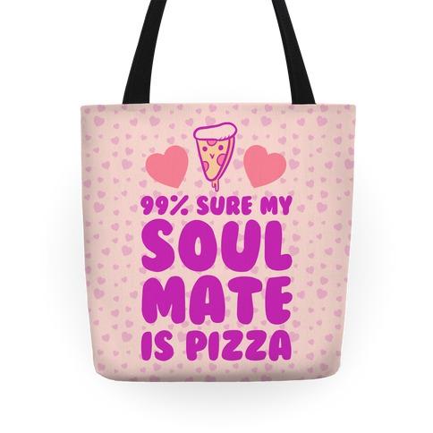 Pizza Soulmate Tote