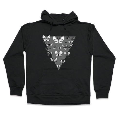 Moth Triangle Hooded Sweatshirt
