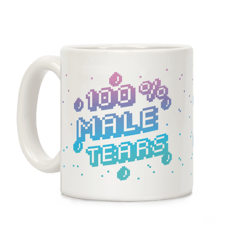 100% Male Tears Coffee Mug
