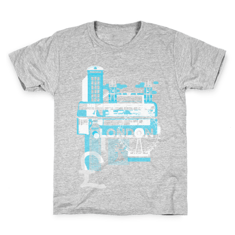 London Travel Visit Kids T-Shirt