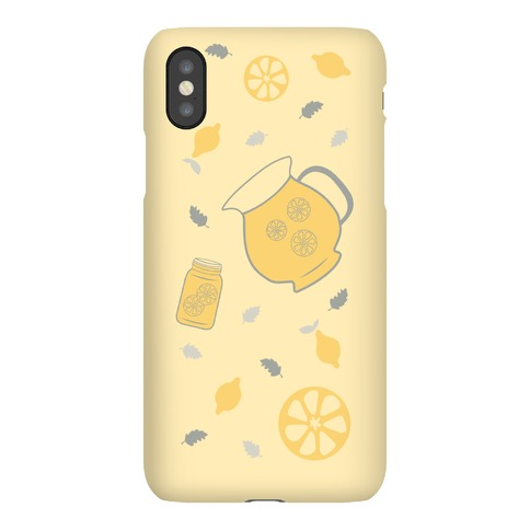 Vintage Inspired Summer Lemonade Stand Phone Case