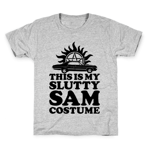 Slutty Sam Costume Kids T-Shirt