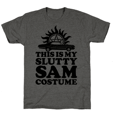 Slutty Sam Costume Mens T-Shirt
