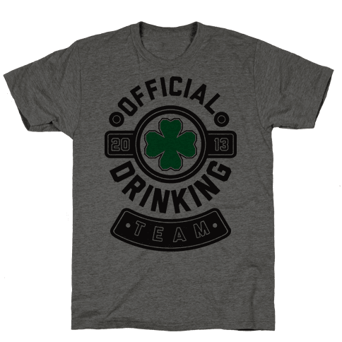 Official Drinking Team Mens T-Shirt