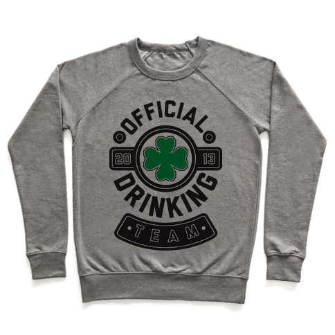 Official Drinking Team Pullover
