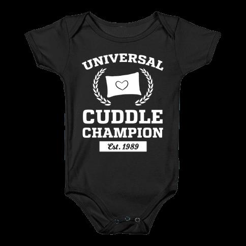 Universal Cuddle Champion Baby Onesy
