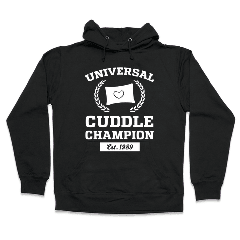 Universal Cuddle Champion Hooded Sweatshirt