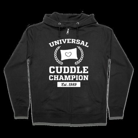 Universal Cuddle Champion Zip Hoodie