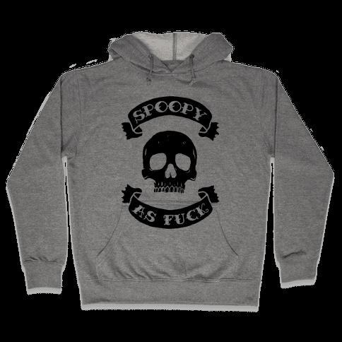 Spoopy as F*** Hooded Sweatshirt