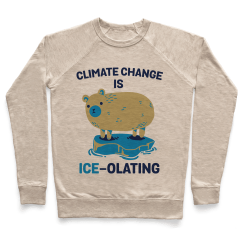 Climate Change Is Ice-olating Pullover