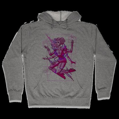 Cosmic Goddess Hooded Sweatshirt