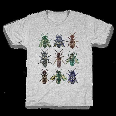Bee Species Kids T-Shirt