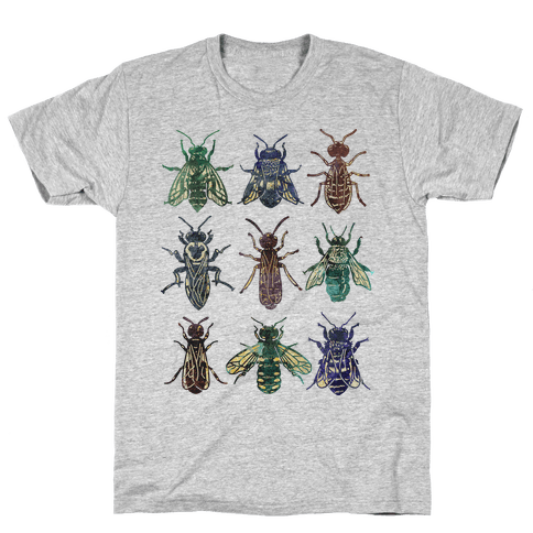 Bee Species Mens T-Shirt